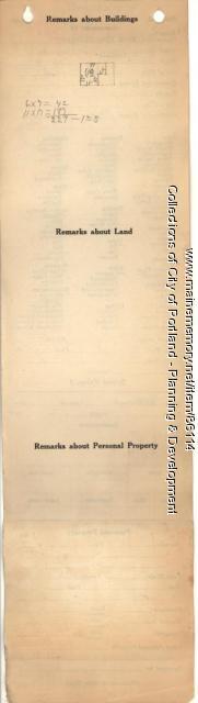 Kirkwood property, W. Side Merriam, Peaks Island, Portland, 1924
