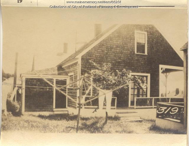 Coffin property, Rear East Side Pyefield Avenue, Peaks Island, Portland, 1924