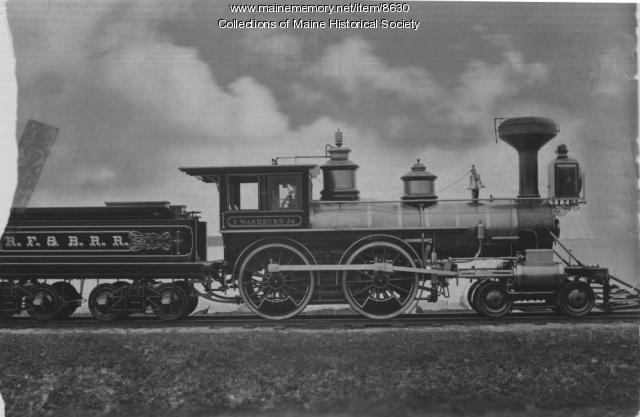 I. Washburn Jr. locomotive, 1878