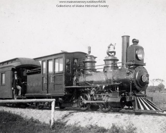 Wiscasset & Quebec Locomotive #2