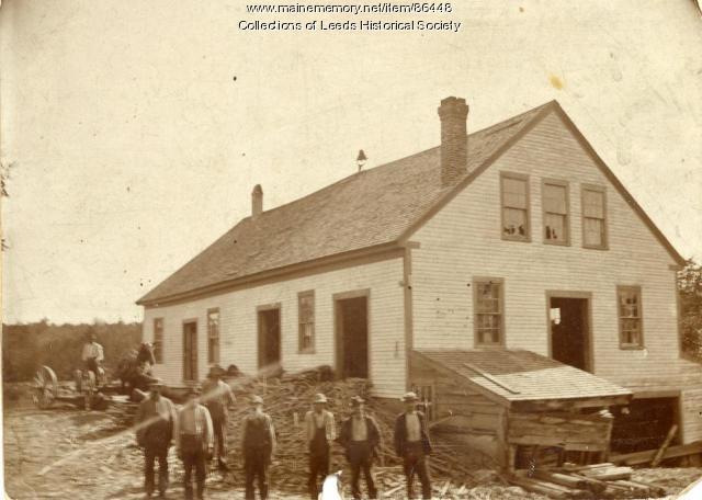 R.E. Swain's Mill, West Leeds, ca. 1900