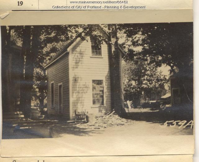 Drowne property, Mariner's Lot, Peaks Island, Portland, 1924