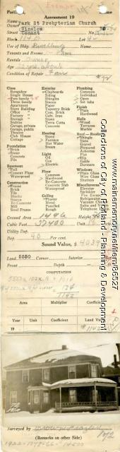 70-74 Winslow Street, Portland, 1924