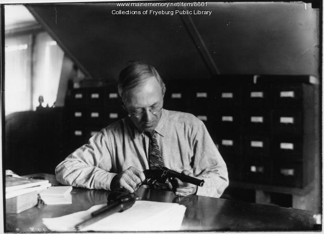 Clarence E. Mulford, Fryeburg, ca. 1930