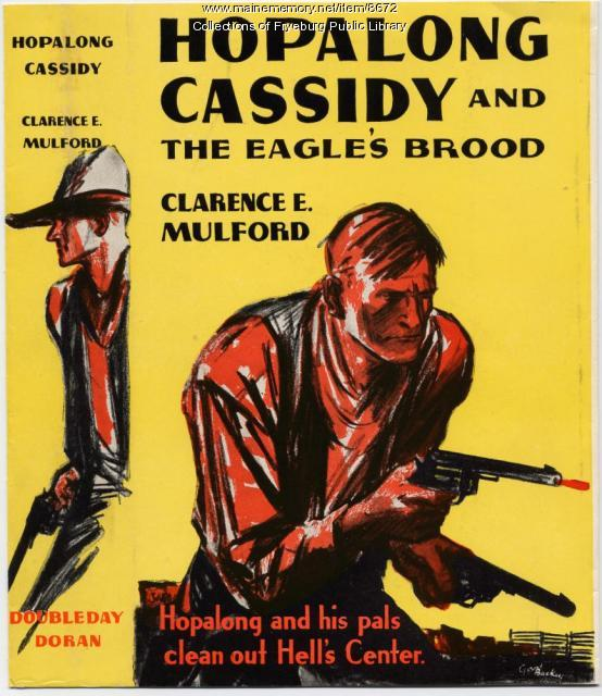Hopalong Cassidy book jacket