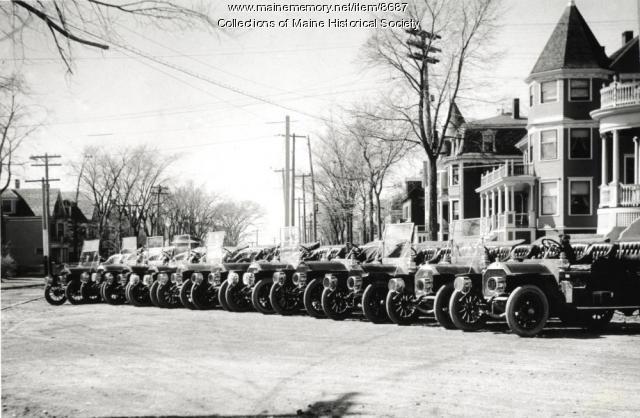 Knox automobiles, Portland, 1909