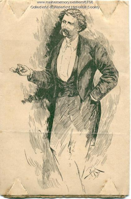 Drawing of Artemus Ward