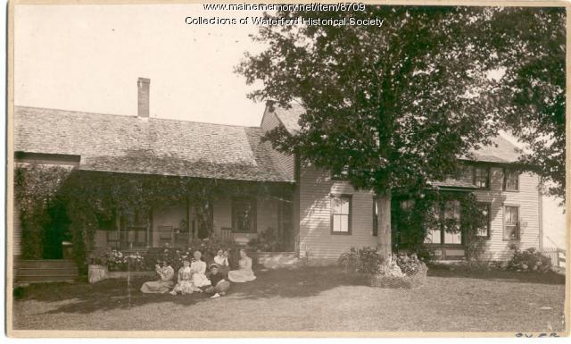 Waldo Brown House, East Waterford, 1896