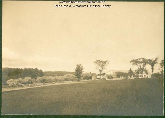 Johnson Homestead, Waterford, ca. 1910
