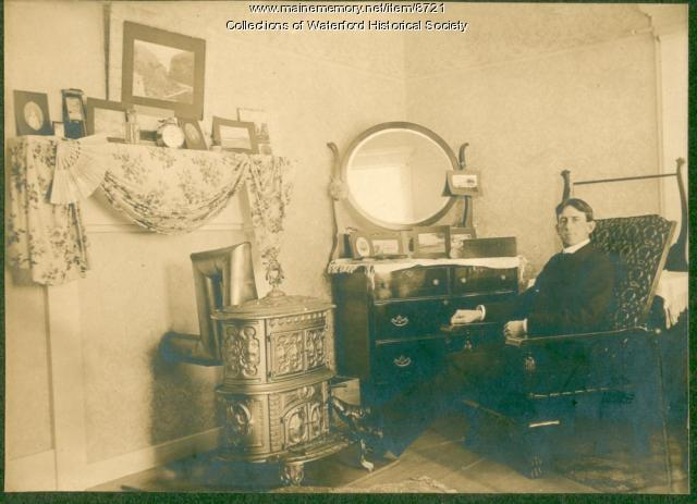Fred Johnson, Waterford, ca. 1910