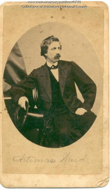 Artemus Ward, Boston, ca. 1862