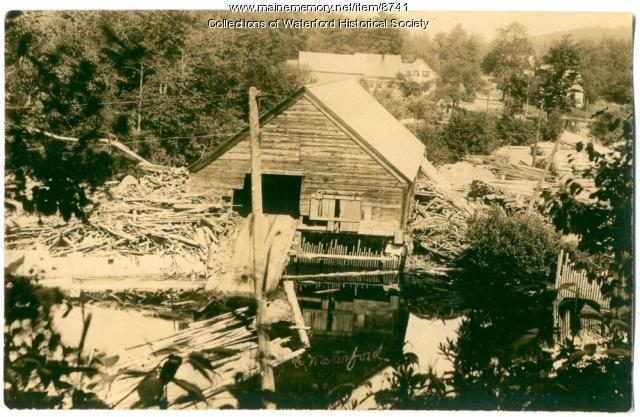 Saw Mill, North Waterford, probably around 1910.