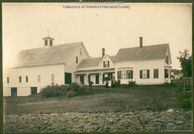 McIntire Homestead, Waterford, ca. 1910