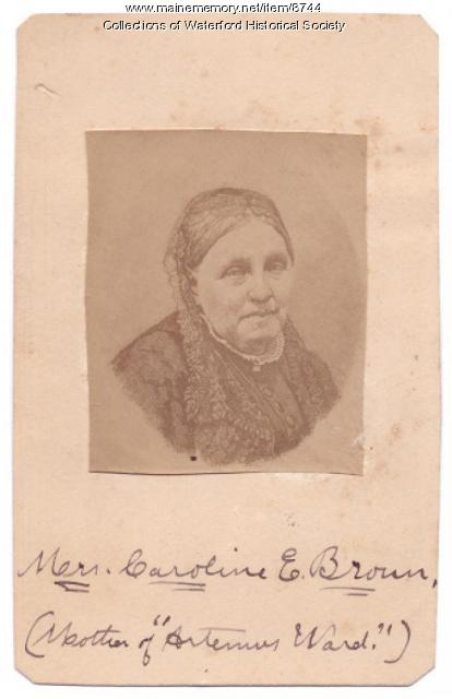 Caroline Farrar Brown, Waterford
