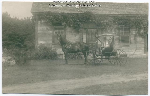 Hamlin Farm, South Waterford, ca. 1900