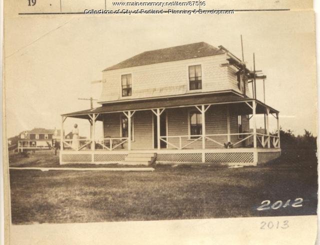Burns property, West Point, Long Island, Portland, 1924