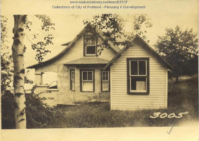 Sackett and Annie W. Sackett property, S. Side Elizabeth Road, Little Diamond Island, Portland, 1924