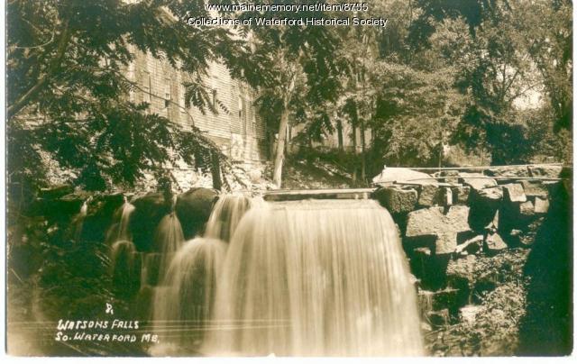 Watson's Falls, Waterford, ca. 1920