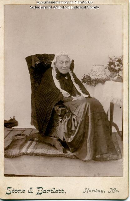 Rachel Rice, Waterford, 1894