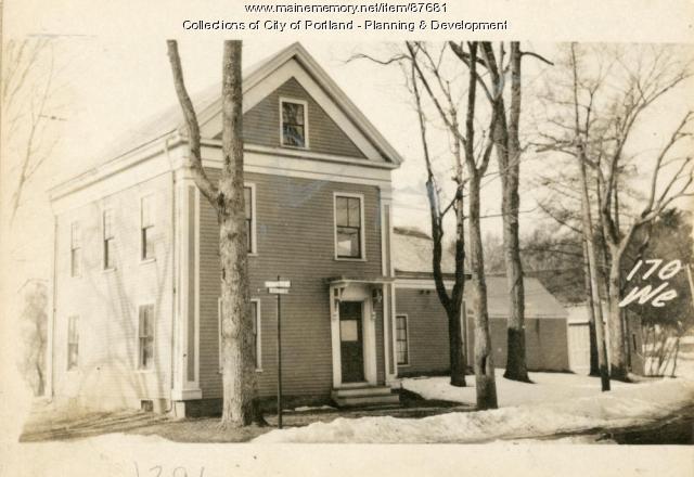 170 Westbrook Street, Portland, 1924