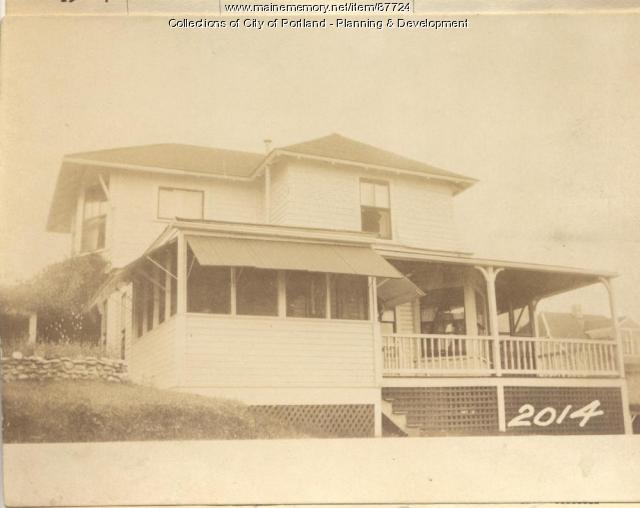 White property, West Path West Point, Long Island, Portland, 1924
