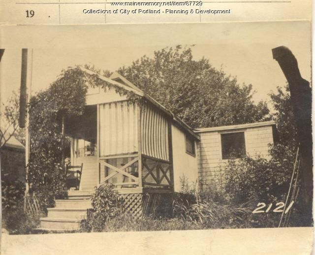 Power property, Island Avenue, Long Island, Portland, 1924