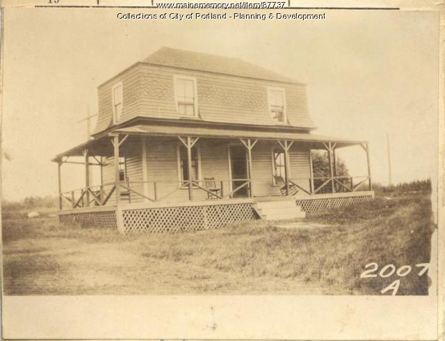Griffin property, West Point, Long Island, Portland, 1924