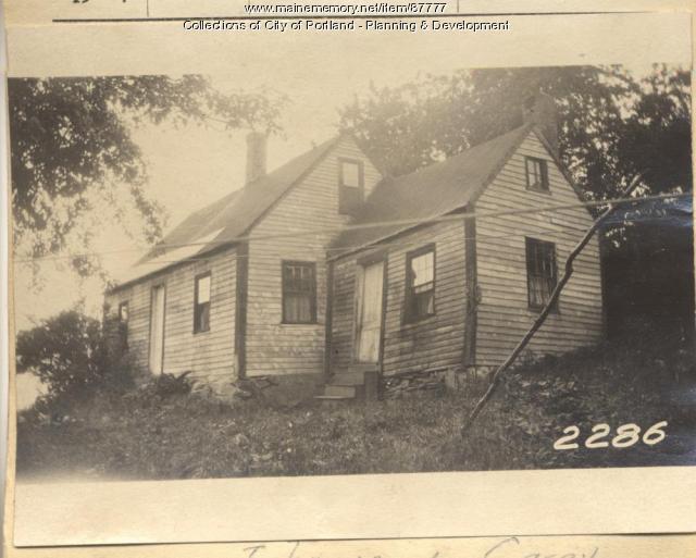 Doughty property, N. Shore, Long Island, Portland, 1924