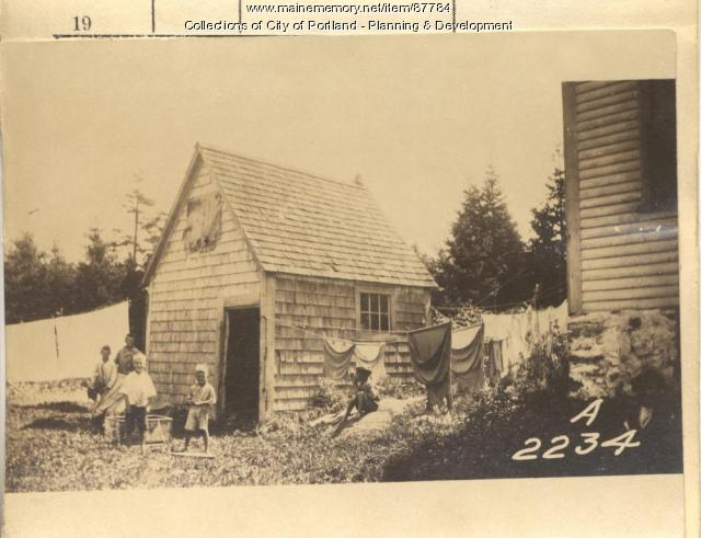 Grover property, Leavitt Street, Long Island, Portland, 1924