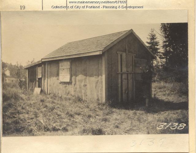 Frothingham property, Near Twin Beach, Long Island, Portland, 1924