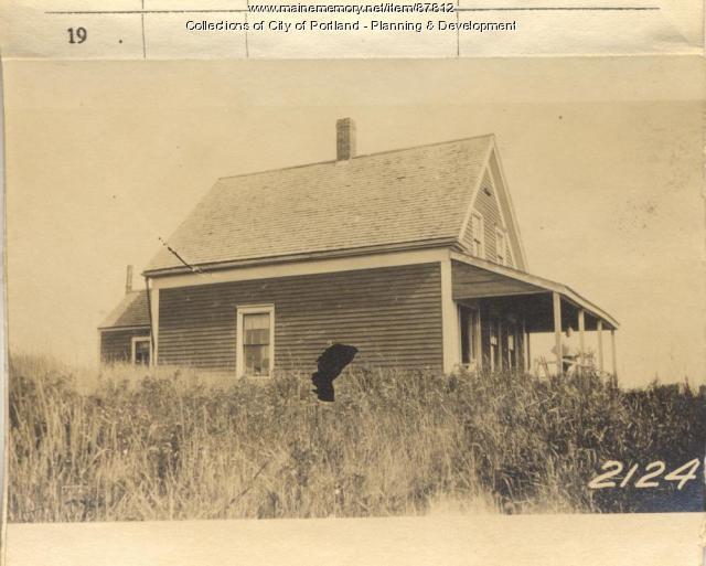 Gould property, West End Near Mt. Hunger, Long Island, Portland, 1924