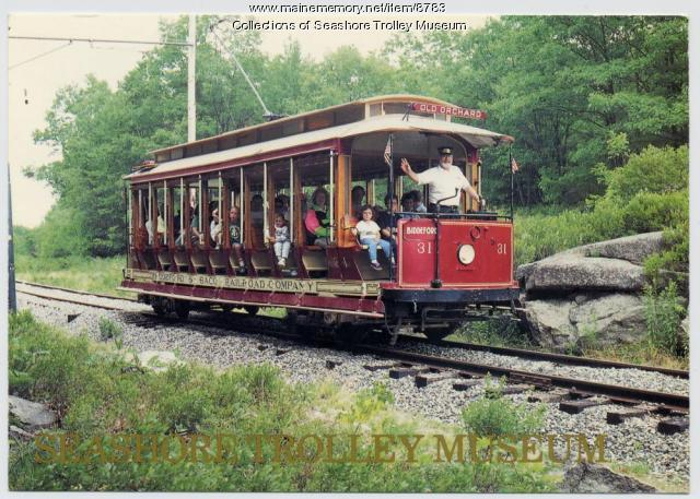 Trolley, Kennebunk, ca. 1980