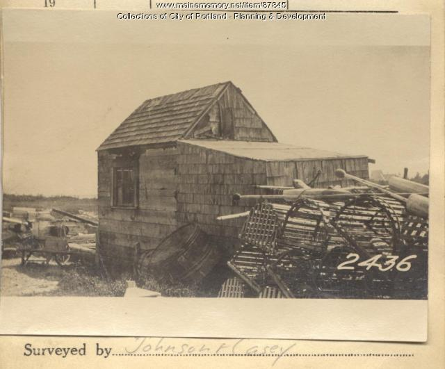 McLoud property, Harbor Grace, Long Island, Portland, 1924