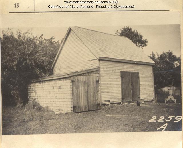 Hedman property, Hedman Land, Long Island, Portland, 1924