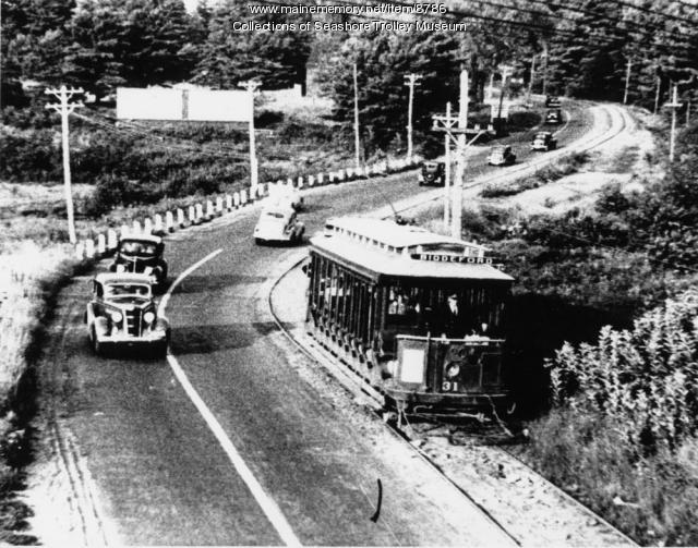 Old Orchard Road, Saco,1939