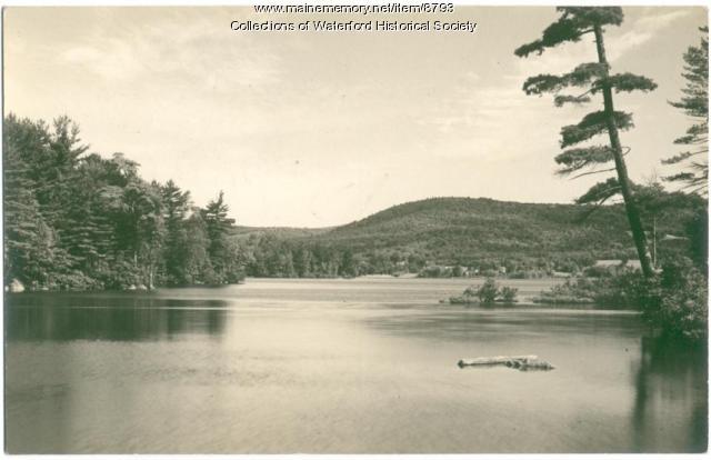 Bear Pond, Waterford, ca. 1920