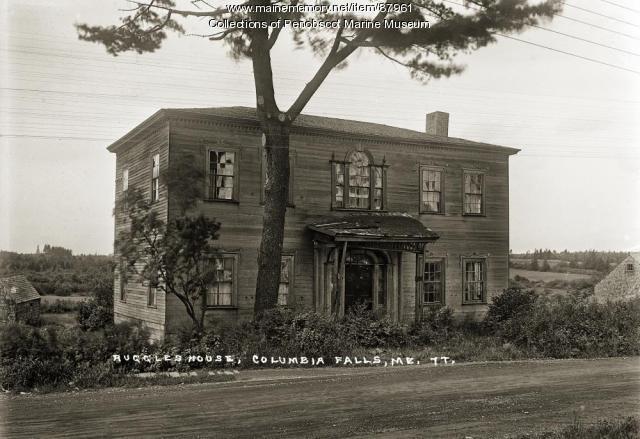 Ruggles House, Columbia Falls, ca. 1920