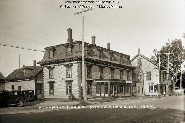 Atlantic House, Milbridge, ca. 1920