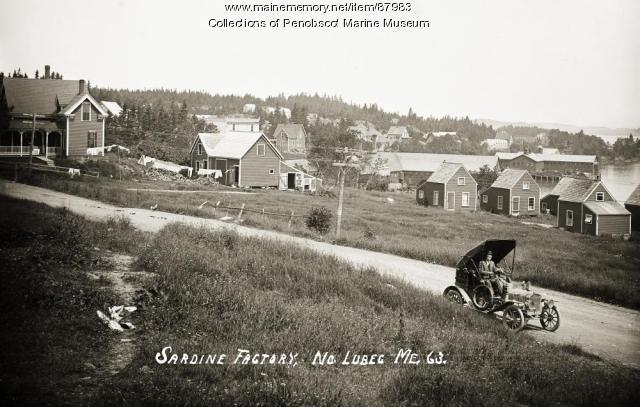 Sardine factory, North Lubec, ca. 1910