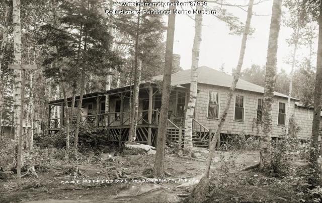 Camp Meddybemps, ca. 1920