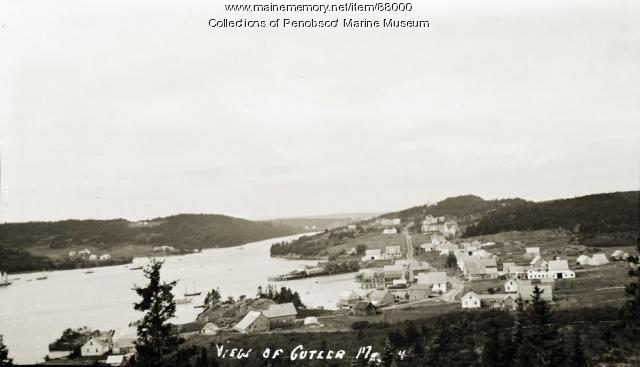 View of Cutler Harbor, ca. 1910