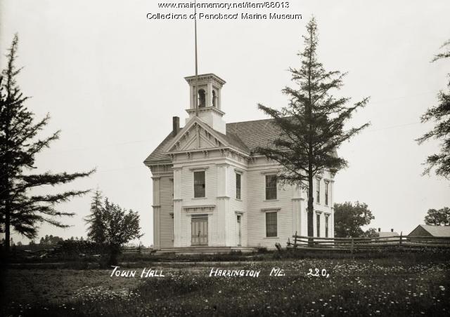 Town Hall, Harrington, ca. 1910