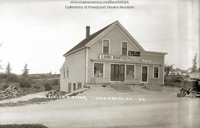 Post Office and store, Jonesboro, ca. 1915