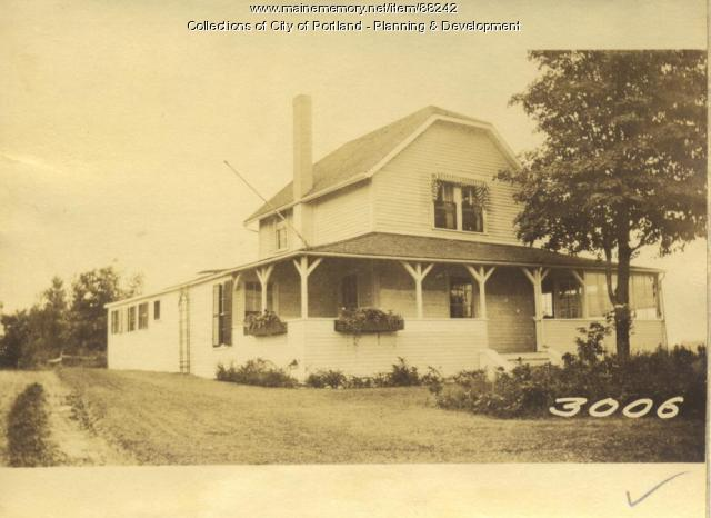 Noyes property, W. Side Old Pier Road, Little Diamond Island, Portland, 1924