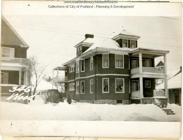346-348 Woodford Street, Portland, 1924