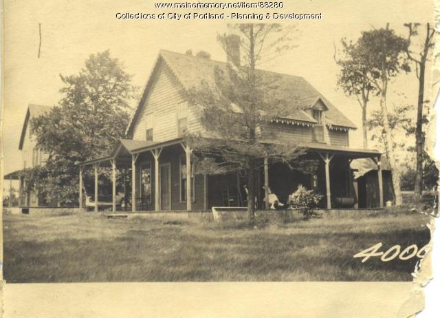 Residence, Little Chebeague Island, Portland, 1924