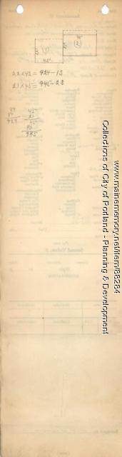 Deering Heirs property, S. side of Island, Great Diamond Island, Portland, 1924