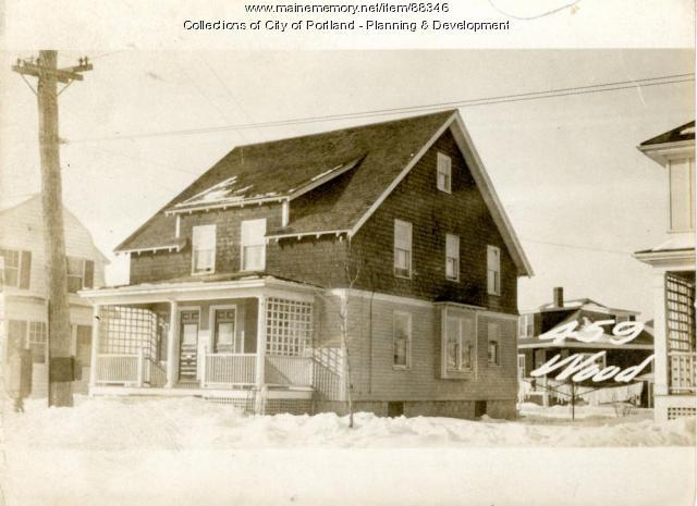 459-461 Woodford Street, Portland, 1924