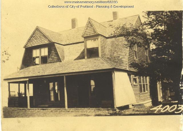 Phillip Sawyer Residence, Little Chebeague Island, Portland, 1924