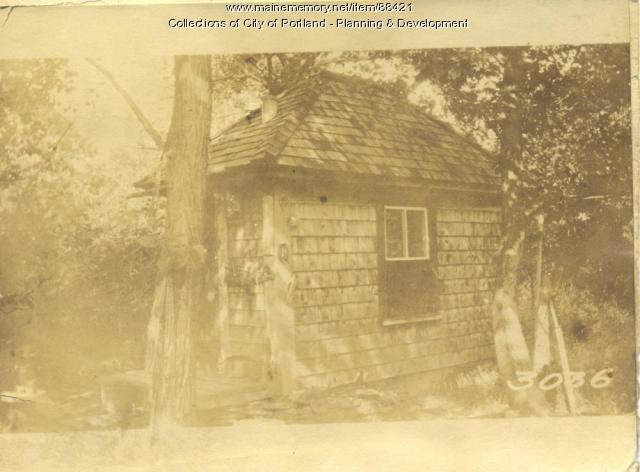 Island Light and Wter Company property, Island Light and Water Co. Shed, Little Diamond Island, Portland, 1924